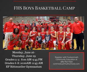 FHS Boys Basketball Camp