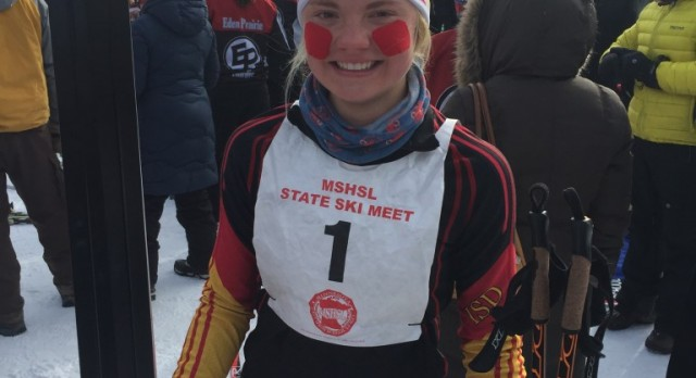 Margie Freed is State Nordic Ski Champion!
