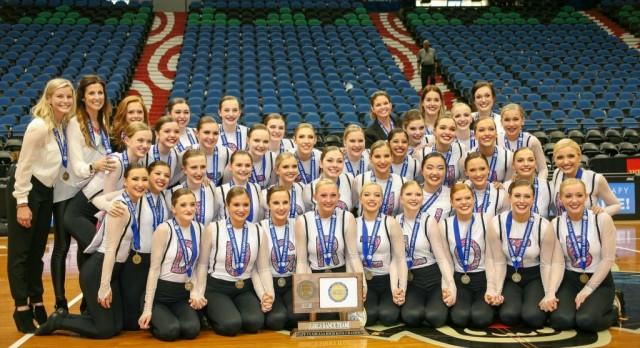Eastview Dance Team wins DOUBLE State Championships