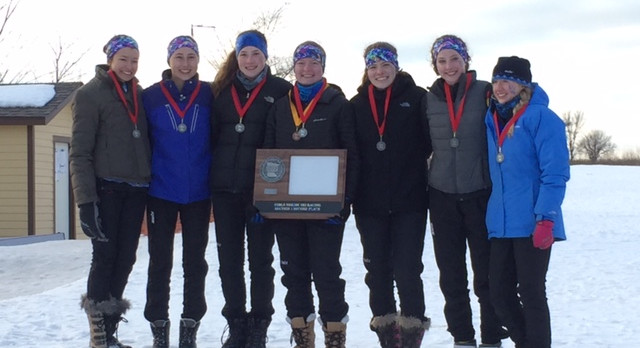 Girls Nordic Ski Qualifies for State!