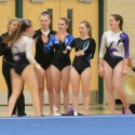 Varsity Girls Gymnastics Action Photos, Winter 2014