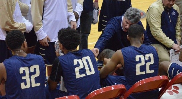 Decatur Central Boys Varsity Basketball beat Fishers High School 71-66
