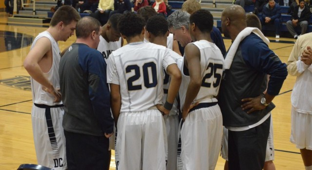 Decatur Central Boys Varsity Basketball beat Roncalli High School 74-58