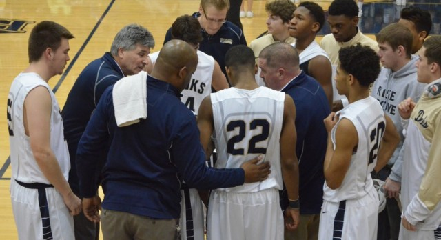Decatur Central High School Boys Varsity Basketball beat Danville High School 77-76