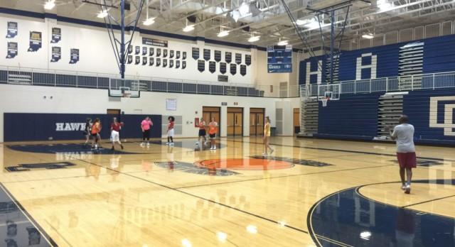 Lady Hawk Basketball Putting In Work (U CAN 2)