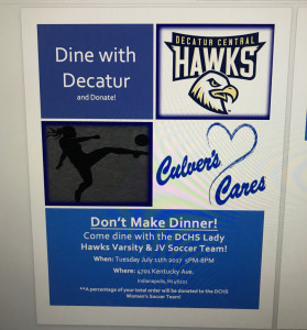 DCHS Culvers Night