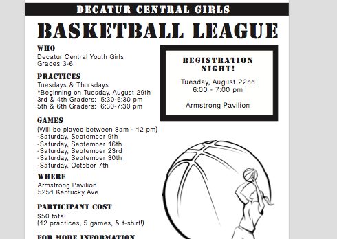 Girls Youth Basketball Registration Still Open!
