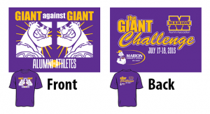 Giant Challenge 2015 T-shirt design