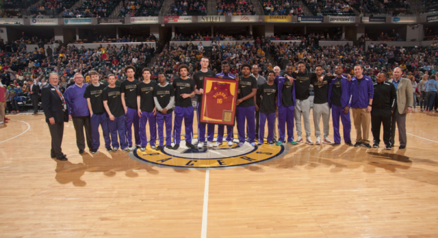 State Champions Honored by Pacers