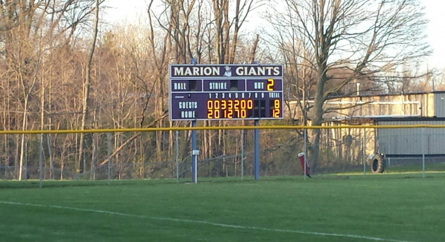 Varsity Baseball beats Oak Hill 12-8