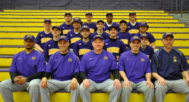 Varsity Baseball beat Maconaquah High School 3-1