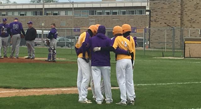 Varsity Baseball beat Muncie Central 4-3 on a walk-off hit!