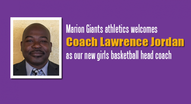 Marion names Jordan new girls basketball coach