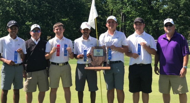 Boys Golf Wins Sectional Title