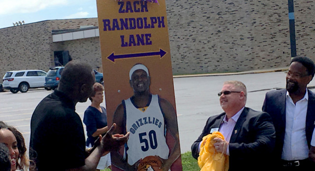 Randolph returns home for special honor