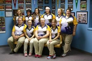 girls bowling team