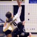 Riley Volleyball  against Goshen