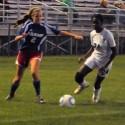 V Girls Soccer against Adams