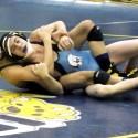 Varsity wrestling against St Joseph