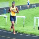 Girls Track agst Washington, Jimtown, and Marian