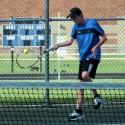 Boys Tennis Against Mishawaka