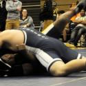 Wrestling against Elkhart Central