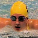 Dual swim meet against Washington