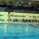 Boys Swim Sr. night against Marian