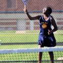 Girls Varsity and JV Tennis against John Glenn