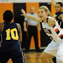 Girls Basketball Defeats Copley Feb. 2014