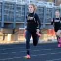 Girls Track vs. Revere April 2014