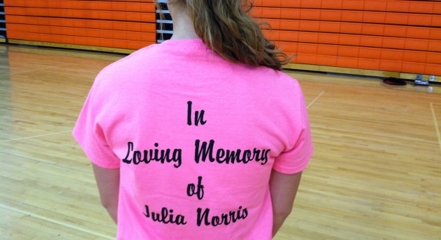 Green Girls Basketball dedicates Youth Basketball Camp to memory of Julia Norris