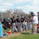 Freshmen baseball at GlenOak — April 18, 2015
