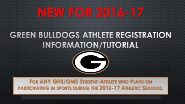16-17 Athlete Registration Tutorial