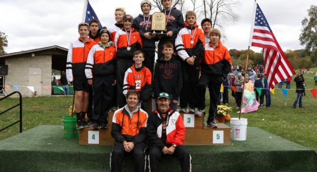 GMS: Boys Cross Country Wins State Meet; Girls Finish Season Strong