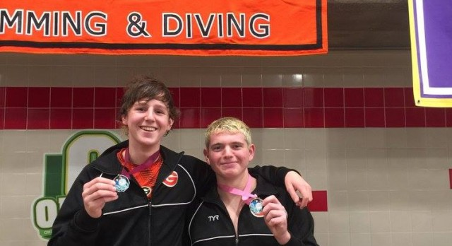 Green Swimming and Diving Reach NEW Heights with 3 Podium Finishes at JV Champs and 23 Swimmers and Divers Qualifying for Districts