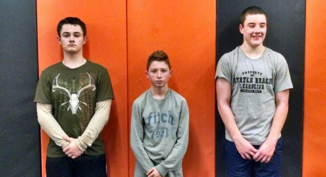 3 GMS Wrestlers Qualify for State Tournament on March 18th-19th