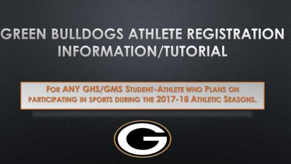 17-18 Athlete Registration Tutorial