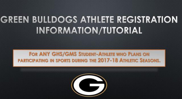 Athlete Registration Information for 2017-18