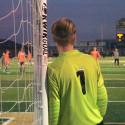 Green Varsity Boys Soccer at GlenOak Playoffs 10-21-17