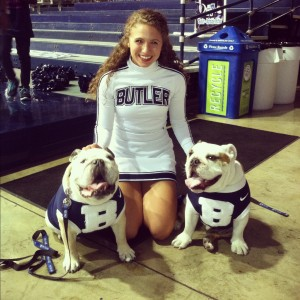 Melissa Lakin WHS Class of 2012 Butler University Cheerleader