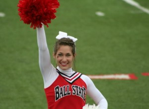 Samantha Majercik  WHS Class of 2014 Ball State University Cheerleader