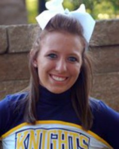 Kayleigh Jenkins WHS Class of 2011 Marian University Cheerleader