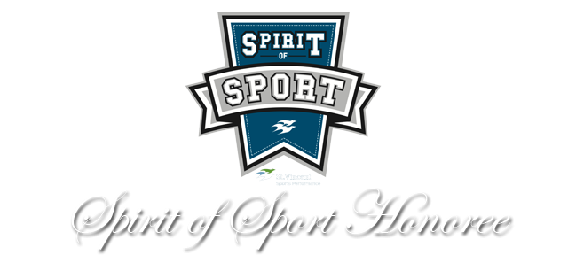 Football Program: Spirit of Sport Honoree