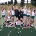 Girls Varisty tennis 2014