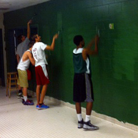 Boys Basketball Upgrading Locker Room Westfield High