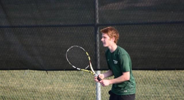 Varsity Tennis beat Noblesville High School 5-0