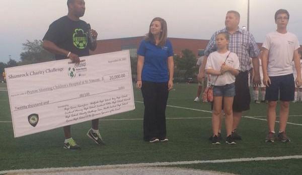 Boys Soccer Raises $20K