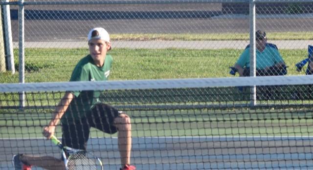 Boys Varsity Tennis beat Lapel 3-2