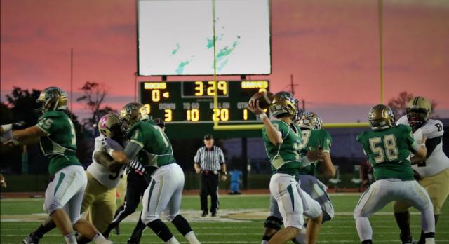 Westfield High School Varsity Football beat Brebeuf Preparatory High 37-21